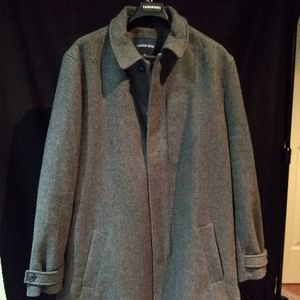 Land's End wool blend topcoat, price drop. Now $55